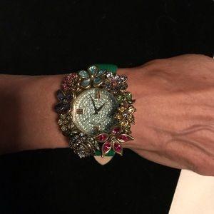 Exquisite Heidi Daus  Watch.